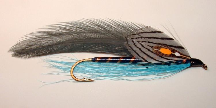 Blue-Gray Streamer