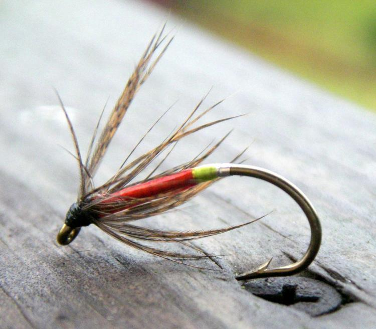 Cinnamon Candy Apple Soft Hackle