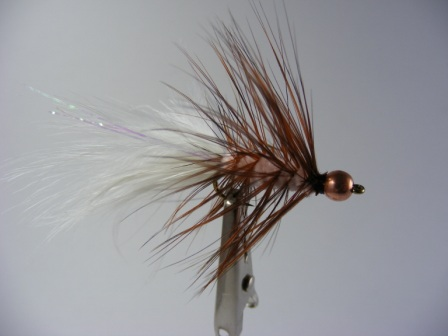 salmon woolly bugger