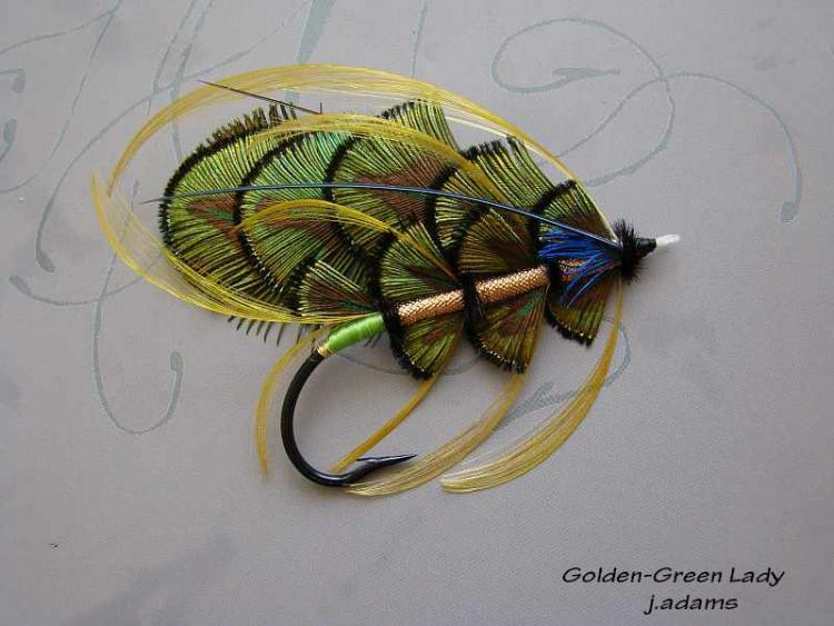 Golden-Green Lady