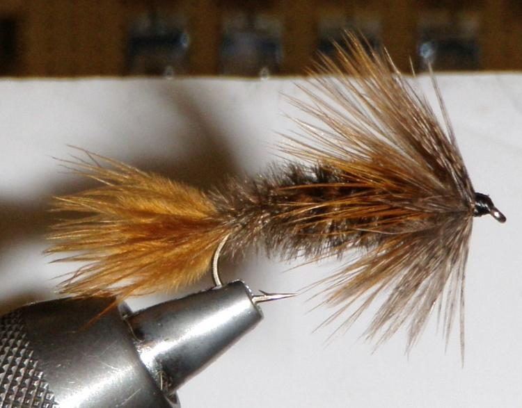 Brown Soft Hackle Streamer