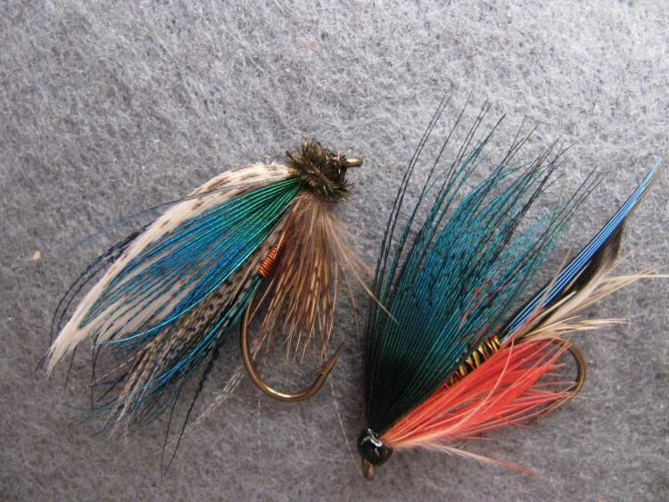 a duo of freestyle wetflies :